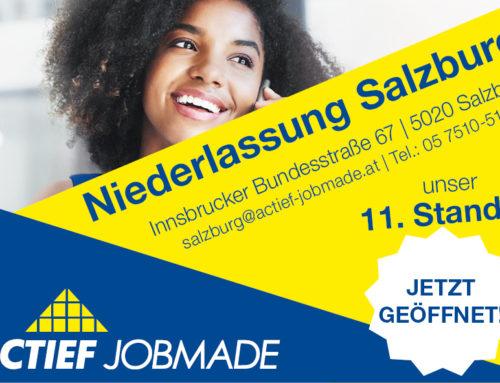 Breaking News: Wir eröffnen Salzburg!
