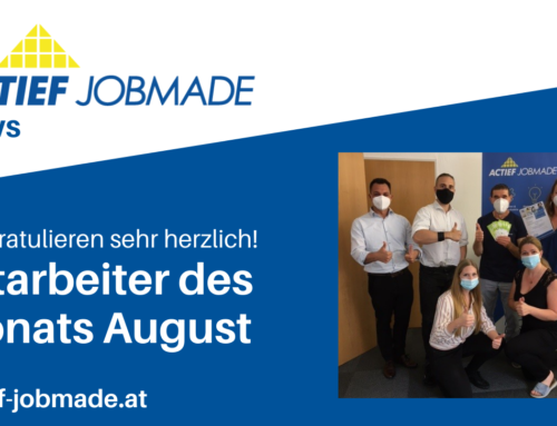 Mitarbeiter des Monats August