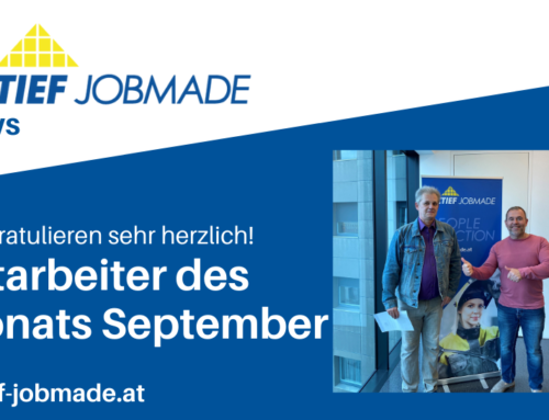 Mitarbeiter des Monats September